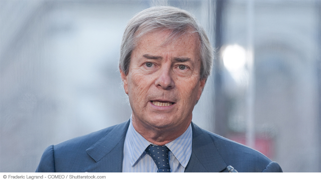 Vincent Bolloré est troisième du palmarès des entrepreneurs préférés des Français.