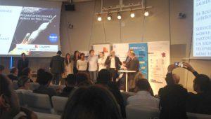 Be-Bound s'est vu remettre, le 14 avril, le prix de Start-up de l'année 2016.
